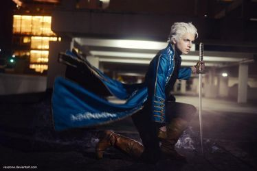 Devil May Cry 3 - Vergil by vaxzone