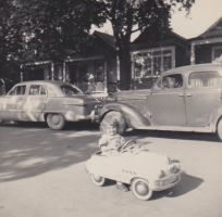 My mother's first car by Ripplin