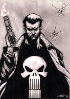 the punisher by LucaStrati