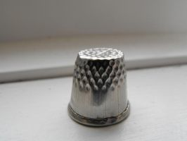 Thimble by Eisoptrophobic-stock
