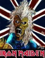 IRON MAIDEN. UP THE IRONS. by jorgearagon