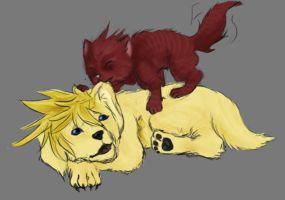 SKETCH:Puppies and Kitties by BritishMindslave
