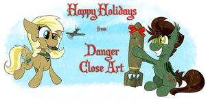 Wings of Fire Holiday Wishes by DangerCloseArt