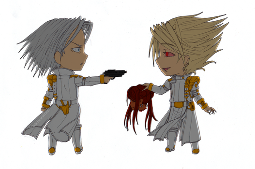 Nendo brothers by Galadreamerinn