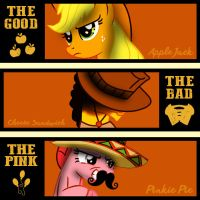 The Good The Bad and The Pink by dan232323