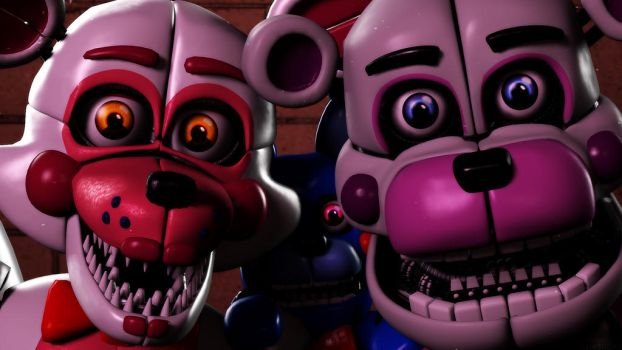 Funtime (SFM FNAF Remake) by TheSitciXD