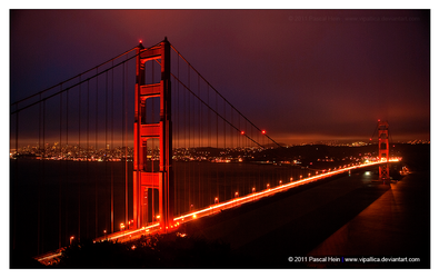 The Golden Gate by Vipallica