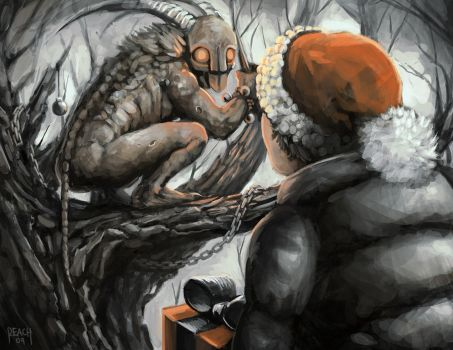Gift for Krampus by UnderneathEverything