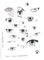 EYES EYES EVERYWHERE! by Lady-Platypus