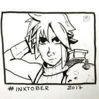 Inktober 2017, Day 19, Cloud by maestromakhan