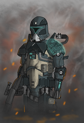 Phase I Goliath power suit CT 1177 Castle by Alpha-Trooper
