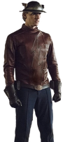 Jay Garrick: Transparent Background! by Camo-Flauge