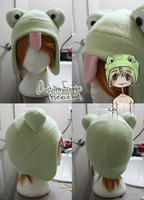 +FleeceHat+ Frog, My Mascot Austin. by Stephys-Adoptables