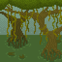 Some swamp pixels in their natural habitat by Deviant-Mell