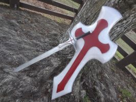 Sword Art Online Red Knight Sword and Shield by meanlilkitty