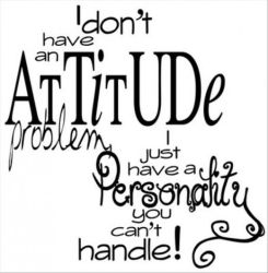 my attitude problem by 220katelynjohnston
