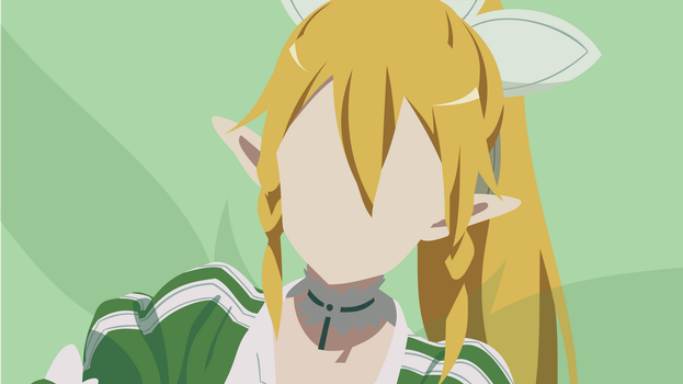 Leafa [2] (Sword Art Online) by MinimalistKnight