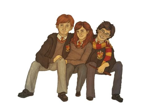 the golden trio by sophalis