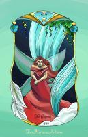 The Empress Tarot Card by TwoHorizonsArt