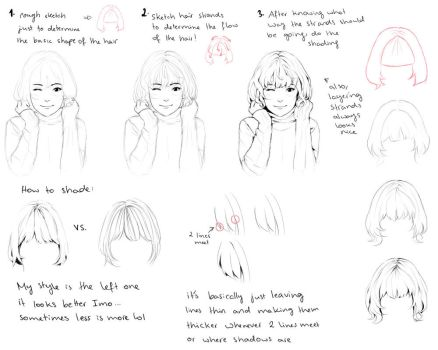 Hair tutorial by Hiba-tan