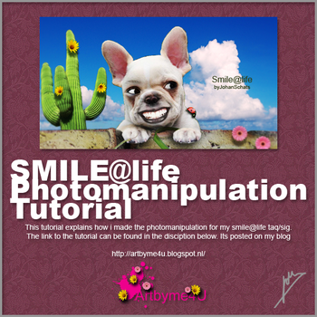 Smile@life Photomanipulation tutorial by xALIASx