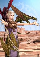 Daenery Targaryen - Mother of Dragons by BrooParker