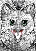ACEO Wolfgryph by LadyFromEast