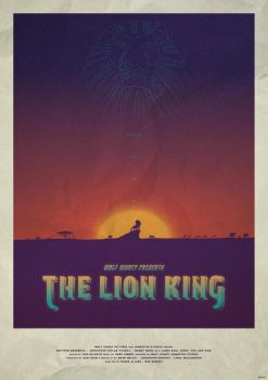 Circle of Life - The Lion King Poster by edwardjmoran