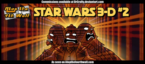 AT4W: Star wars 3D NO.2 by DrCrafty