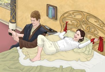 Padme Tickled (Star Wars Ep.2) - White Outfit by sp0rel0rd