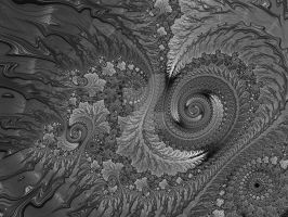Grey Spirals all over again by rahulmukerji