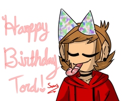 +.Happy Birthday Tord!.+ by Summered-Sums