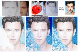Hrithik Roshan by Dabboo Ratnani version 2 by creativebarbwire