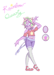 Rainbow Quartz Steven/Pearl by MichPajamaArtist