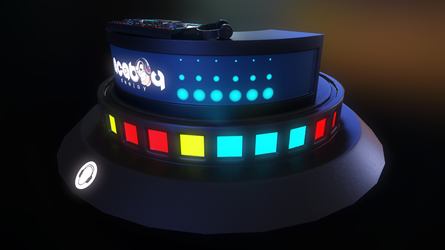 Game Props - DJ booth by eddieswan