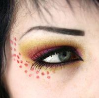 Callow Lily inspired makeup 2 by catharinejoy