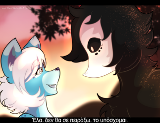 [Two Tails] I am not going to harm you, I swear by caprlnae