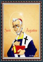 St. AUGUSTINE by Reformed-Artiste