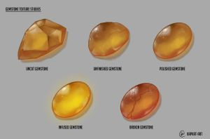 Gemstone study by Lascivio-Pipio