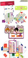Japan Expo 2013 - Stand CF 09 Hall 6 by Chibi-Lili