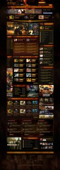 aliveingames mmo game portal by csavsar