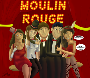 Moulin Rouge Themed Homecoming  by Gerundive