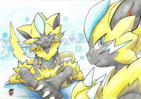 It's time for Zeraora by fullfolka