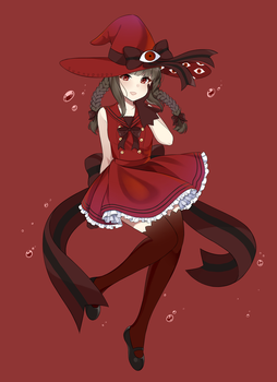Wadanohara And The Great Blue Sea (red sea) by Sunnypoppy