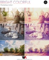 Bright Colorful Photoshop Action by Welton-Arruda