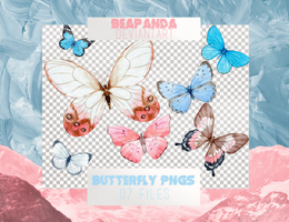 Renders 055 // Butterfly Pngs by BEAPANDA