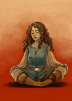 TP: Daine Meditating by Minuiko