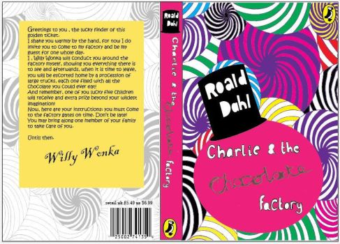 Chocolate factory book cover by abbileigh