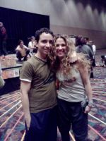 Me with yoga instructor Seane Corn by ShizNat4EVER