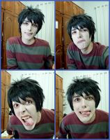 Marshall Lee faces by Guilcosplay
